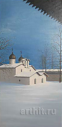 'The Church of the Holy Protection |of the Mother of God'. Yakovlev Alexander