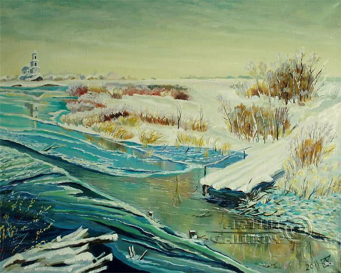 'Abandoned road'. Vodolazkin Sergey