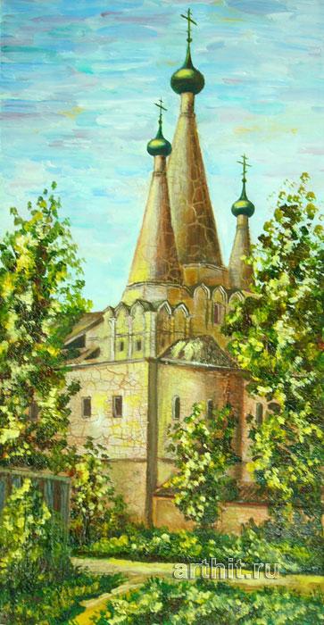 'Forgotten temple'. Zaigraeva Lyudmila