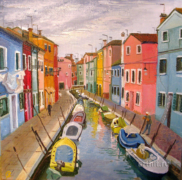 Pictures Of Landscapes For Houses oil paintings. landscapes. landscapes. venice houses. severinenko