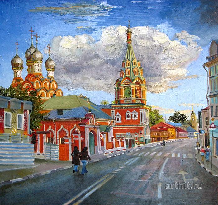 ''Таганка''.  Севериненко Евгения. Продажа картин, предметов декоративно-прикладного искусства