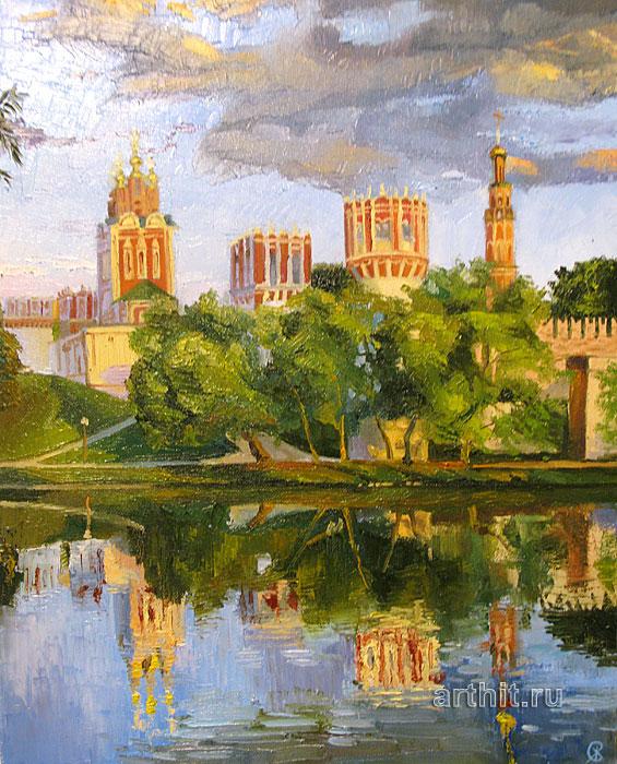 ''Замок''.  Севериненко Евгения. Продажа картин, предметов декоративно-прикладного искусства