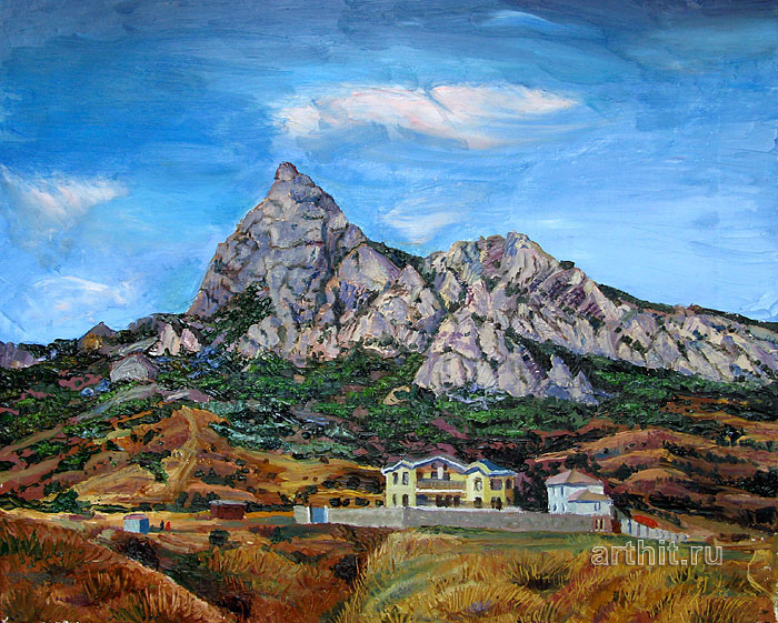 ''Гора Карадаг''.  Севериненко Евгения. Продажа картин, предметов декоративно-прикладного искусства