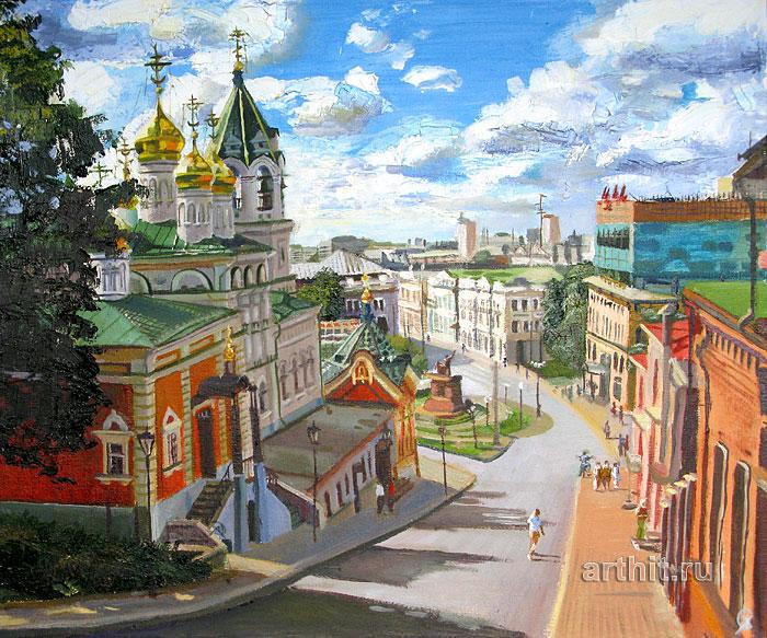 ''Около Кремля''.  Севериненко Евгения. Продажа картин, предметов декоративно-прикладного искусства