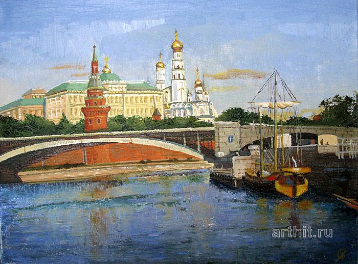 ''Кремлевский Мост''.  Севериненко Евгения. Продажа картин, предметов декоративно-прикладного искусства
