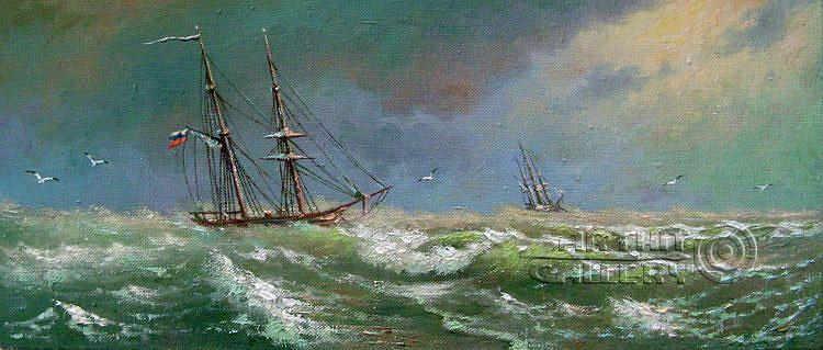'Storm'. Kulagin Oleg