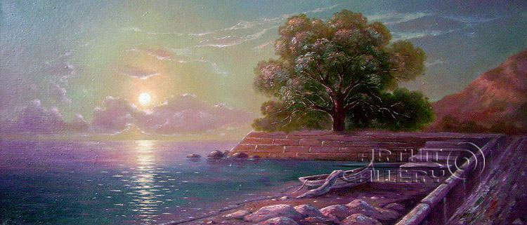 'Evening at the seafront'. Kulagin Oleg