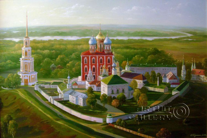 'View of the Ryazan Kremlin'. Kulagin Oleg
