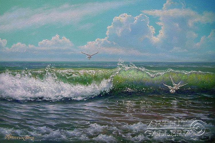 'Wave melody'. Kulagin Oleg