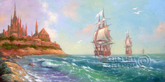 'The visit to the far shore'. Kulagin Oleg