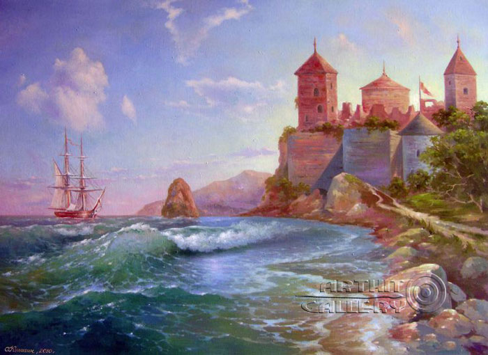 'The sea fortress'. Kulagin Oleg