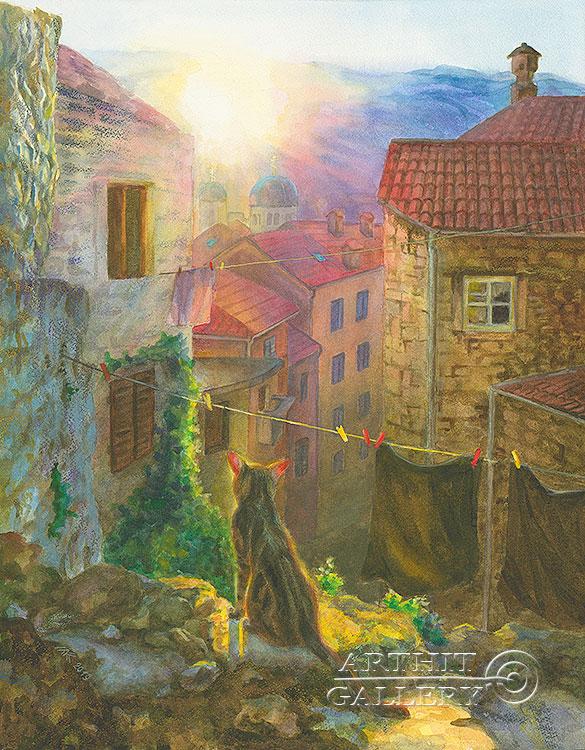 ''Философ''.  Газарова Лариса. Продажа картин, предметов декоративно-прикладного искусства