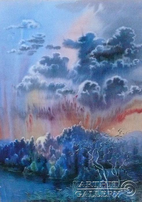 ''Суровый край''.  Еремин Сергей. Продажа картин, предметов декоративно-прикладного искусства