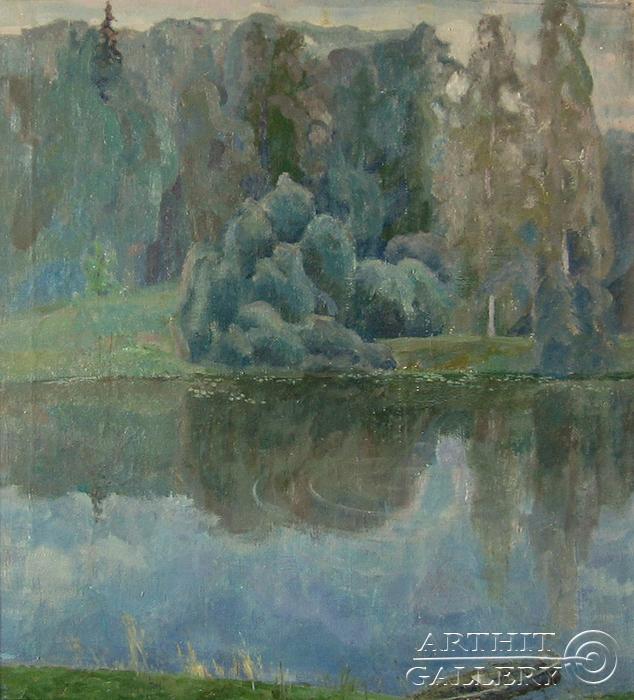 ''Тишина''.  Канов Варус. Продажа картин, предметов декоративно-прикладного искусства