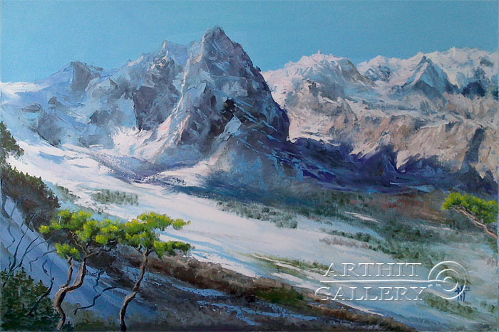 'Mountains'. Cherkasova Tatyana