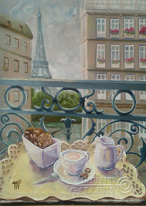 'Morning. Paris'. Cherkasova Tatyana