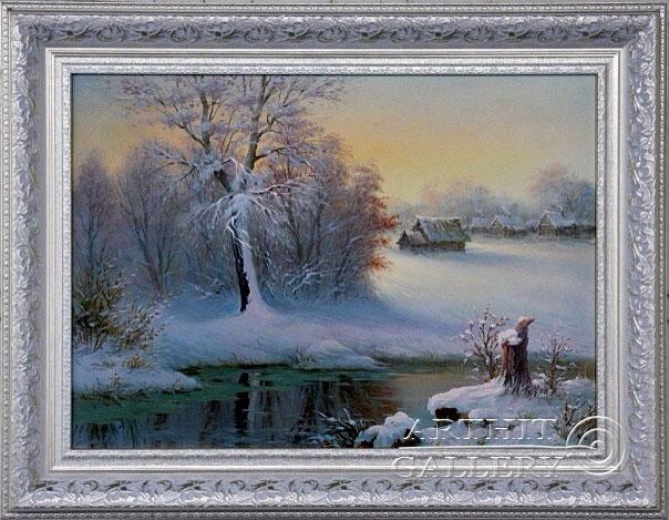 ''Зима''.  Малякин Иван. Продажа картин, предметов декоративно-прикладного искусства
