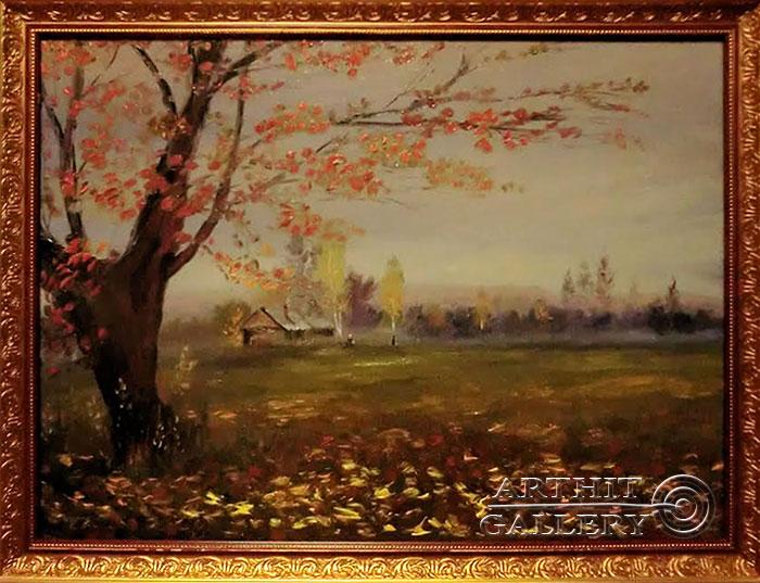 ''Осень в Подмосковье''.  Анисимов Павел. Продажа картин, предметов декоративно-прикладного искусства