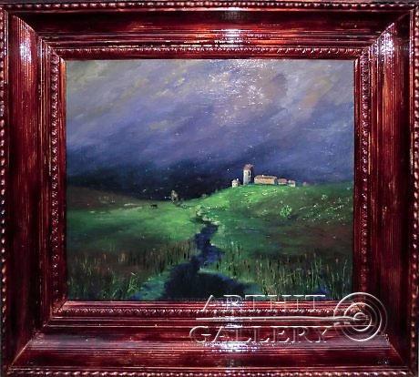 ''После дождя''.  Анисимов Павел. Продажа картин, предметов декоративно-прикладного искусства
