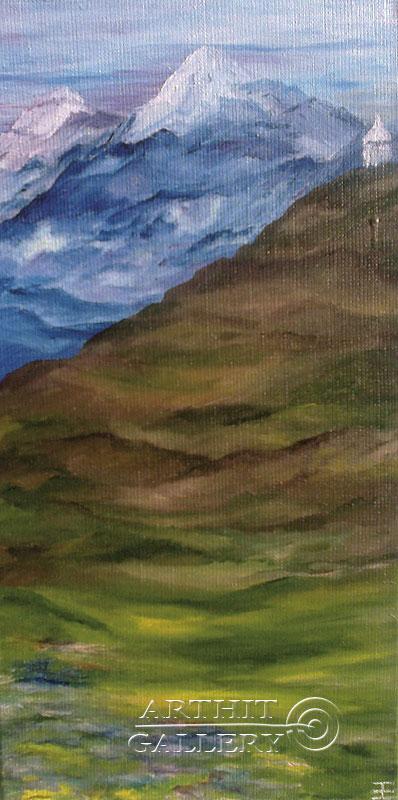 'Mountains. Way'. Gentzar Renata