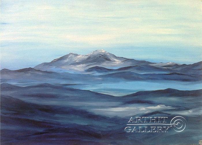 'Mountains-waves'. Gentzar Renata