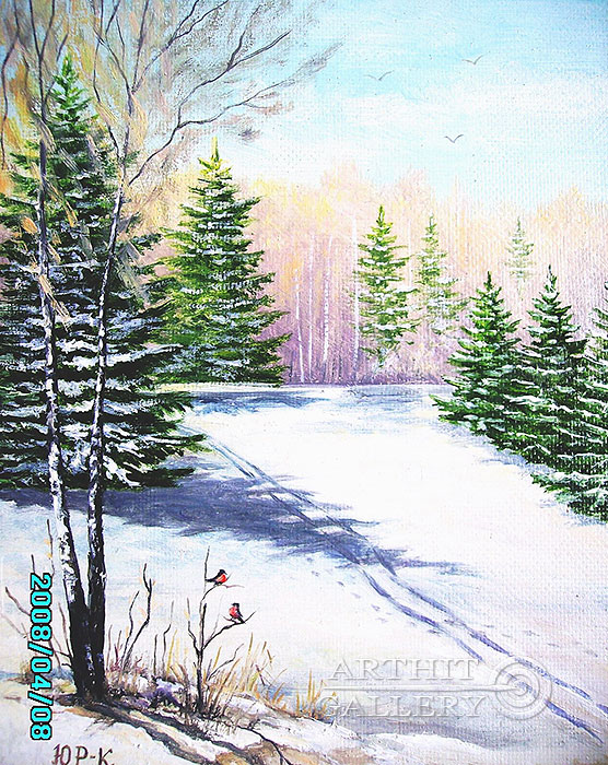 'Skiing track'. Rimsky-Korsakov Yuriy