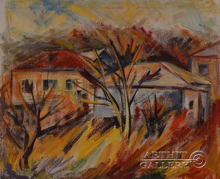 ''Осень''.  Оганесян Асмик. Продажа картин, предметов декоративно-прикладного искусства
