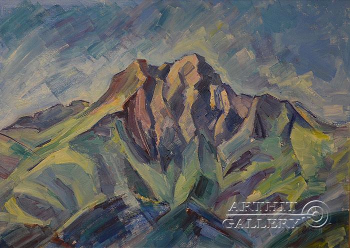 'Mountain'. Hovhannisyan Hasmik