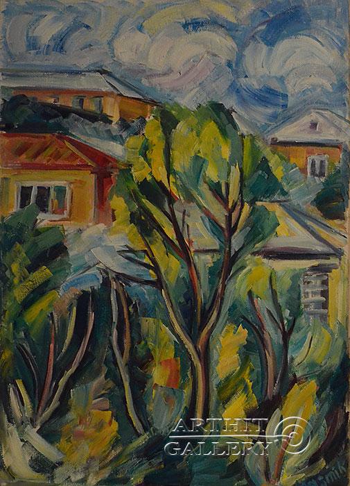 ''Весна''.  Оганесян Асмик. Продажа картин, предметов декоративно-прикладного искусства