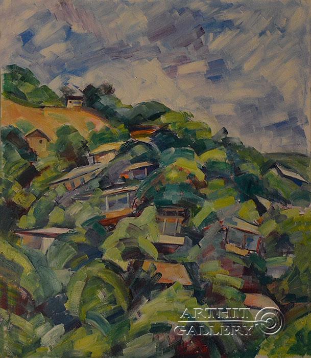 ''Пейзаж''.  Оганесян Асмик. Продажа картин, предметов декоративно-прикладного искусства