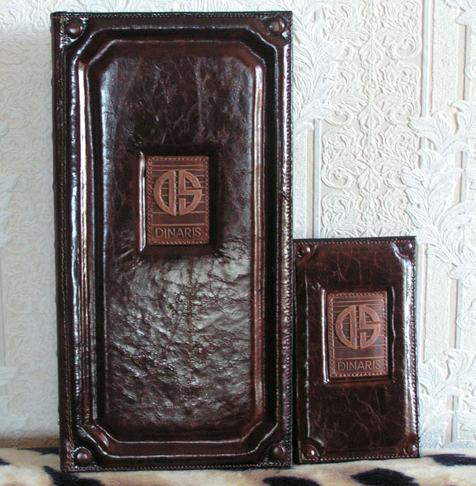 leather covers: