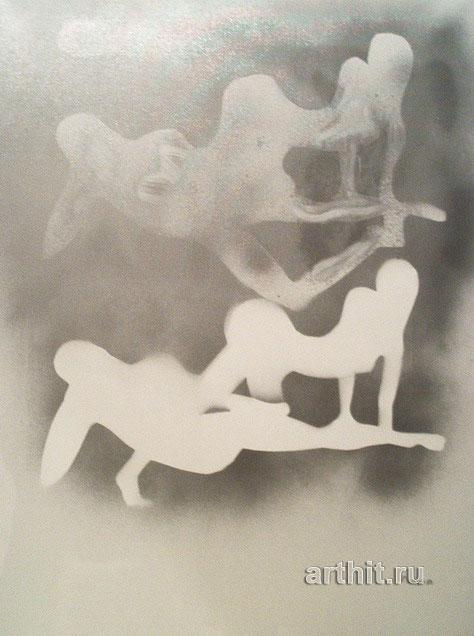 ''В зеркале''.  Нечаева Полина. Продажа картин, предметов декоративно-прикладного искусства