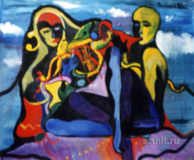 ''Музыка''.  Нечаева Полина. Продажа картин, предметов декоративно-прикладного искусства