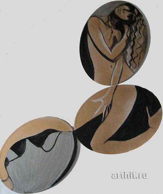 ''Танец на стуле''.  Нечаева Полина. Продажа картин, предметов декоративно-прикладного искусства