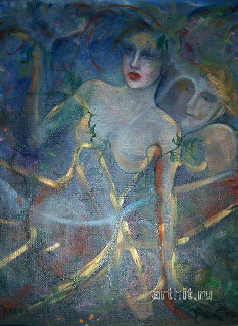 ''Свет''.  Нечаева Полина. Продажа картин, предметов декоративно-прикладного искусства