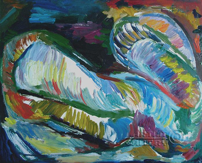 ''Одеяло''.  Вишневский Андрей. Продажа картин, предметов декоративно-прикладного искусства