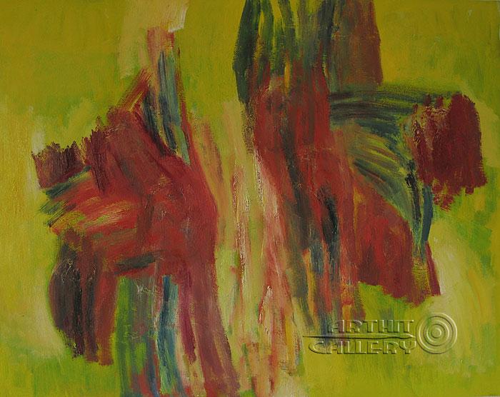 ''Джазовая композиция''.  Вишневский Андрей. Продажа картин, предметов декоративно-прикладного искусства