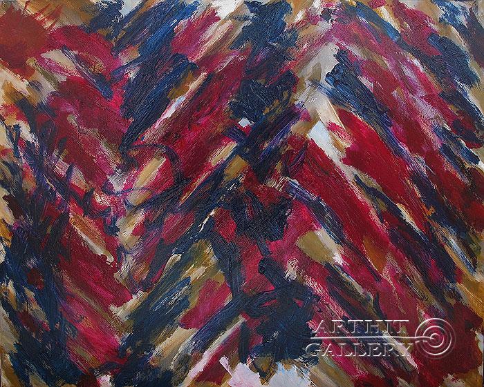 ''Африканский танец''.  Вишневский Андрей. Продажа картин, предметов декоративно-прикладного искусства