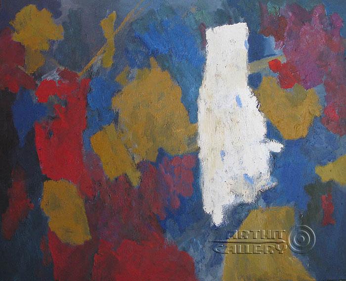 ''Натюрморт с абстракциями''.  Вишневский Андрей. Продажа картин, предметов декоративно-прикладного искусства