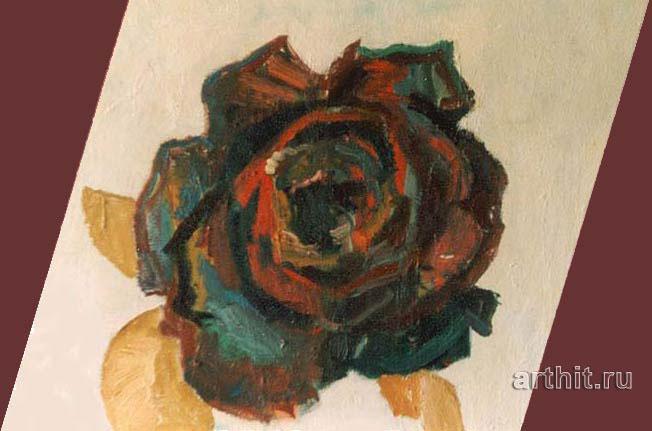 ''Роза''.  Вишневский Андрей. Продажа картин, предметов декоративно-прикладного искусства
