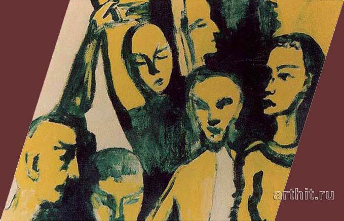 ''Метро''.  Вишневский Андрей. Продажа картин, предметов декоративно-прикладного искусства