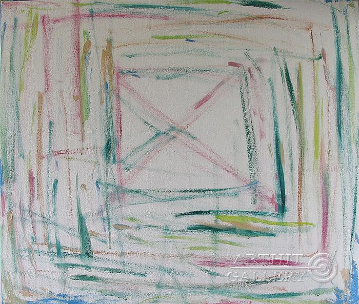 ''Белый квадрат''.  Вишневский Андрей. Продажа картин, предметов декоративно-прикладного искусства