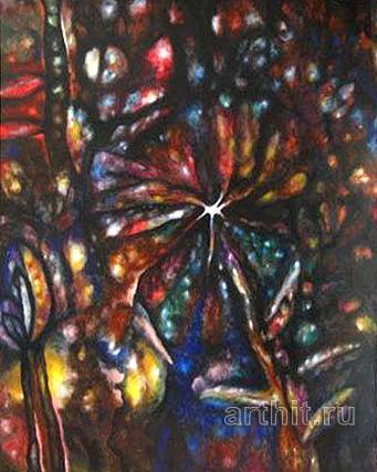 ''Древо мира 1''.  Гаврилов Владимир. Продажа картин, предметов декоративно-прикладного искусства