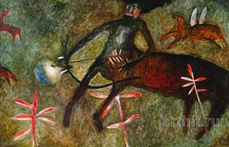 ''Охота кентавра''.  Гаврилов Владимир. Продажа картин, предметов декоративно-прикладного искусства