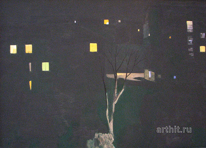 'Night city'. Sobolevsky Mikhail