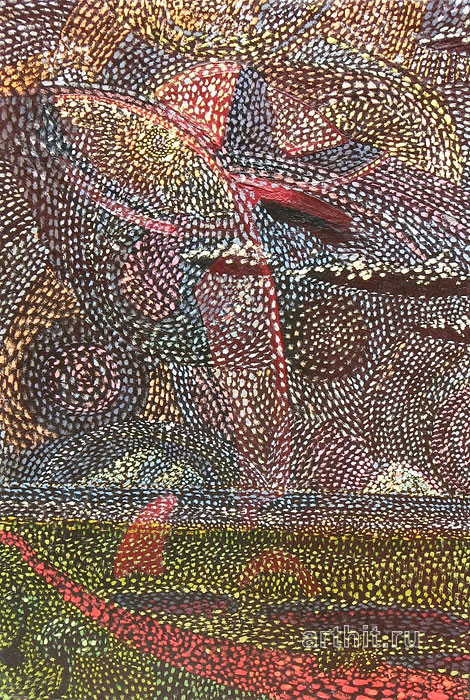 ''Anton Webern op.27 fin.''.  Ковалевский Дмитрий. Продажа картин, предметов декоративно-прикладного искусства