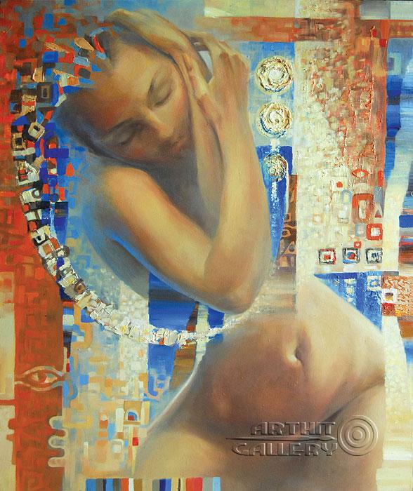 ''Утром''.  Ирисметова Лариса. Продажа картин, предметов декоративно-прикладного искусства