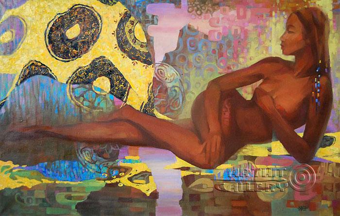 ''Анора''.  Ирисметова Лариса. Продажа картин, предметов декоративно-прикладного искусства