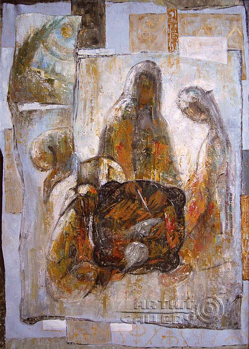 ''Плов''.  Ирисметова Лариса. Продажа картин, предметов декоративно-прикладного искусства