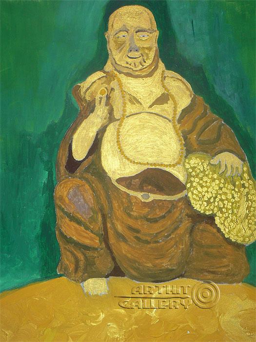 'Laughing Buddha'. Alferov Andrei